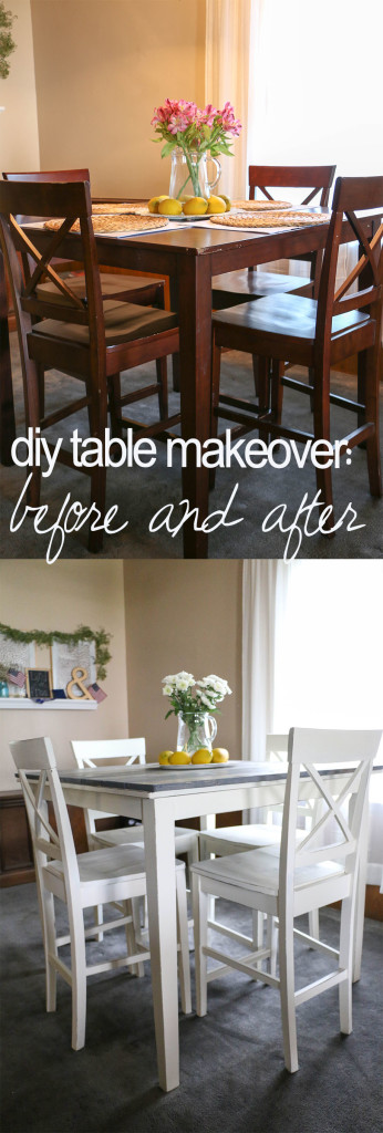 table before after
